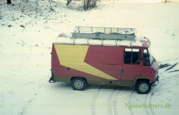 Der reisefertige MB 407 D