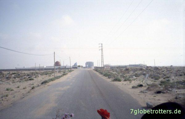Der Phosphathafen von Laayoune Plage / Westsahara