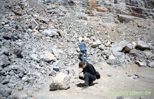 Im Steinbruch von Abaynou