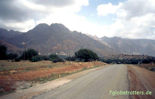 Auf dem Weg nach Tafraoute