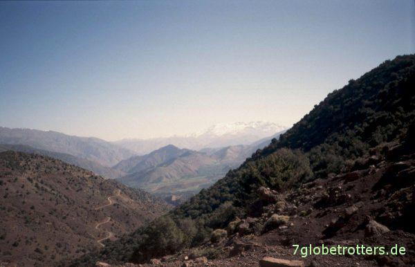 Panorama des Hohen Atlas