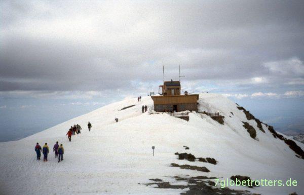 Gipfel des Oikameden
