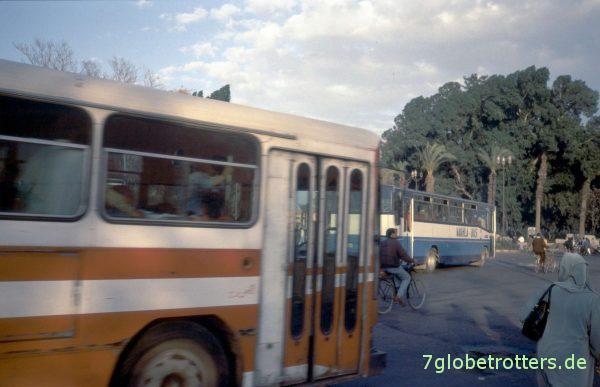Stadtverkehr Marrakesch