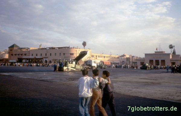 Abend auf dem Jemna el Fna