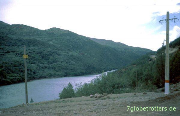 Stausee nordöstlich von Ouzoud
