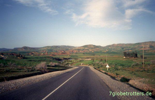 Grünes marokkanisches Land