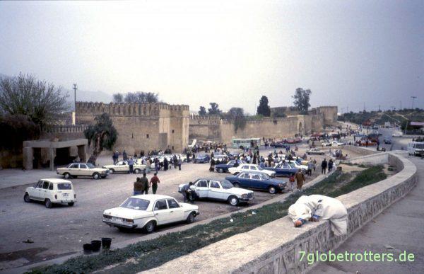 Taxiparkplatz von Fés
