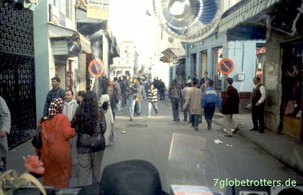 Stadtdurchfahrt Rabat