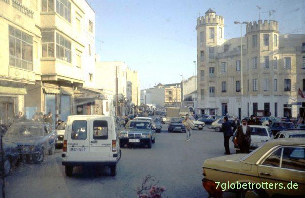 Die letzte marokkanische Ortsdurchfahrt
