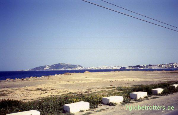 Ceuta in Sicht