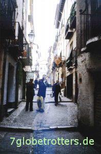In den Gassen der Altstadt von Granada