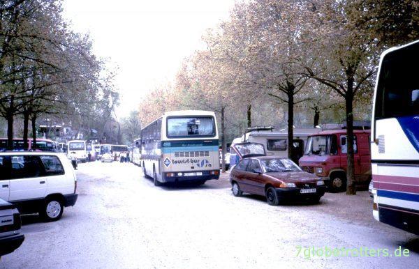 Parkplatz an der Alhambra