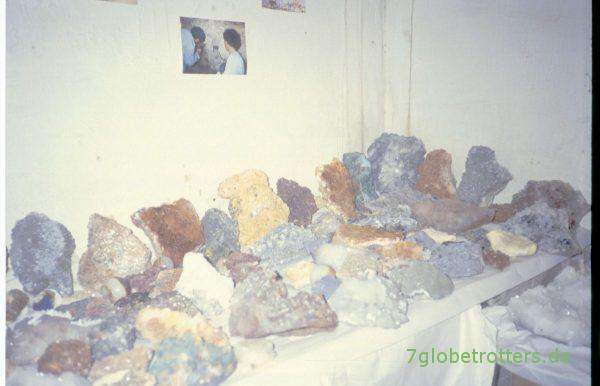Mineralien aus Marokko