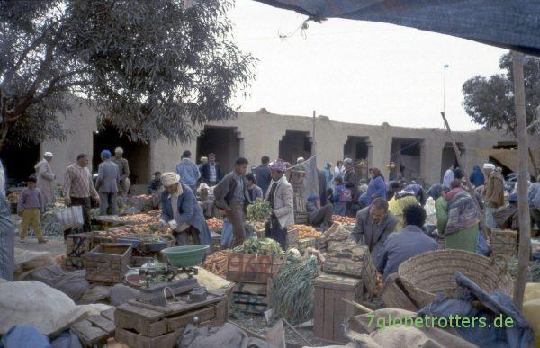Gemüsemarkt in Er Rachidia