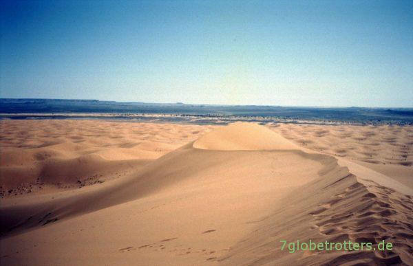 Sanddünen im Erg Chebbi