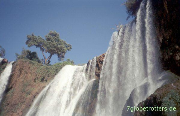 Die Wasserfälle von Ouzoud