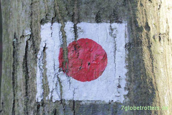 Der japanische Wanderweg