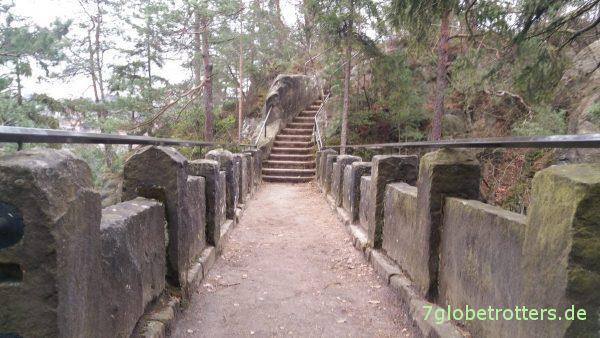 Sandsteinerne Teufelsbrücke