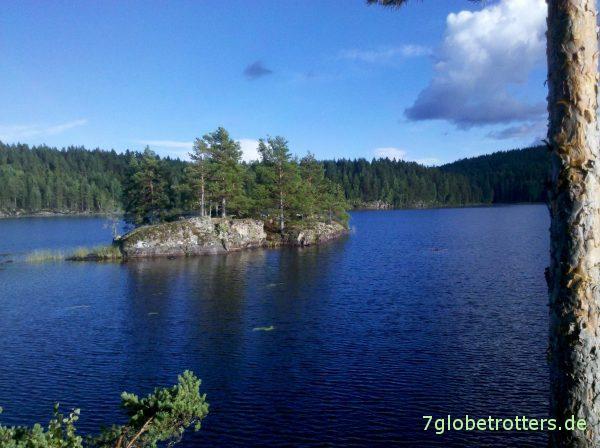 Kanutour mit Kindern in Schweden: Die Kinderinsel im Glaakern
