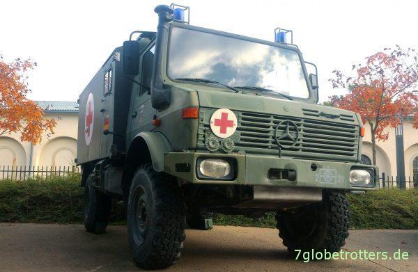 Unimog U1300 als Sanikoffer der Bundeswehr