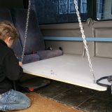 der tisch im wohnmobil ausziehbar oder klappbar. Black Bedroom Furniture Sets. Home Design Ideas