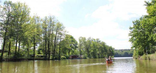 10-Seen-Paddeltour: Ruhige Havel zu Himmelfahrt