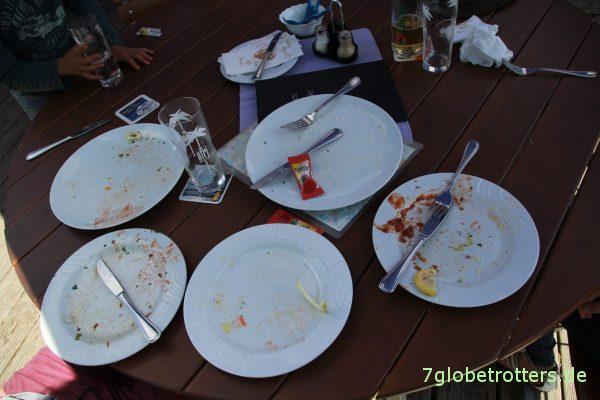 Es hat allen geschmeckt im Hafenrestaurant Priepert