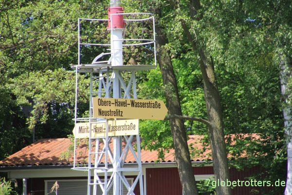 Wasserstraßenkreuzung