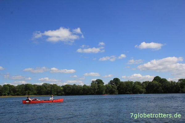 10-Seen-Paddeltour in Familie: Großer Pälitzsee