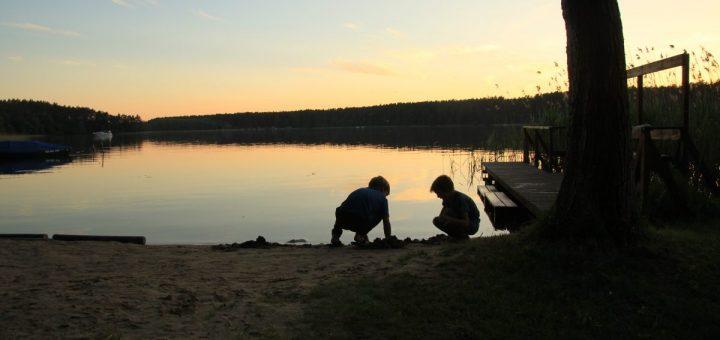 Abendstimmung am Großen Pälitzsee