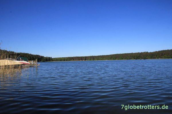 Sonne, Sonne, blauer Himmel auf der 10-Seen-Runde