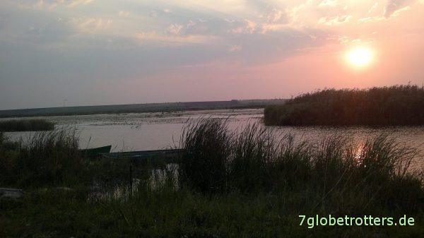Abendstimmung am Bug bei Mykolajev
