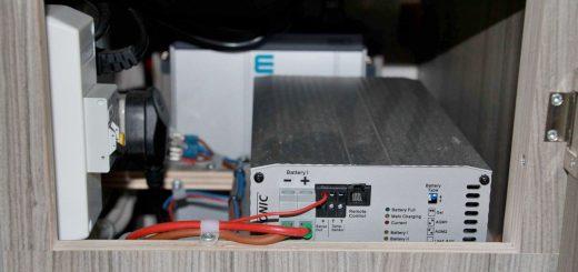 Elektroanlage im Expeditionsmobil, Installation