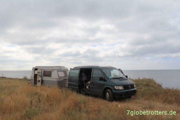 Khorly, kurz vor der Krim