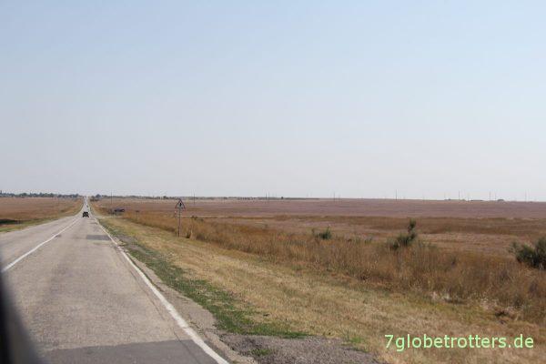 Krim, Weg zur Arabat-Nehrung