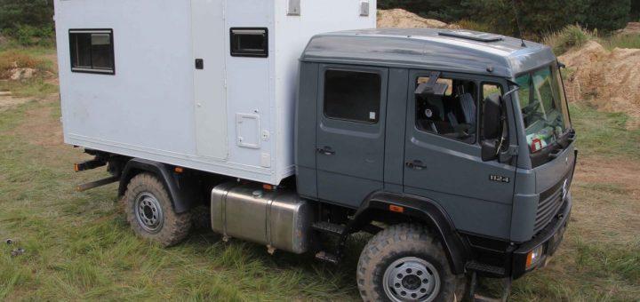 MB 1124 AF: Die Elektroanlage im Expeditionsfahrzeug würde ich heute anders konzipieren