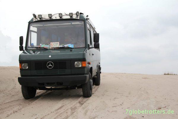 Geländetest MB 711 D: Ist der Mercedes Vario Allrad überbewertet?