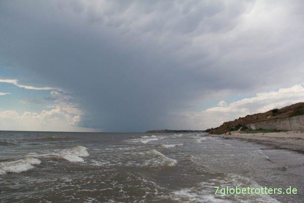 Strand bei Rybatskaya, Ukraine