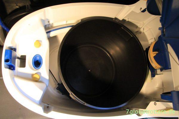 Trockentrenntoilette im Wohnmobil: Urinsammler und Eimer