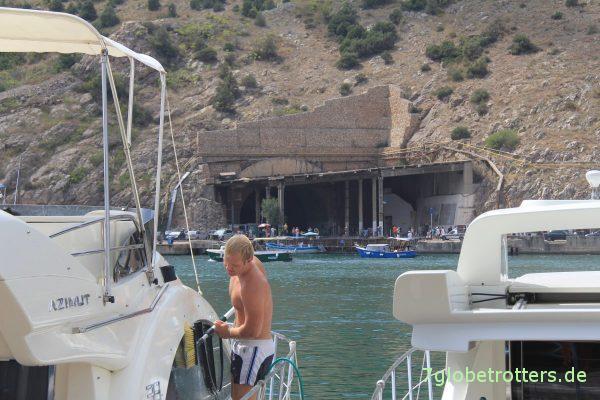 U-Boot-Bunker und Yachthafen Balaklawa