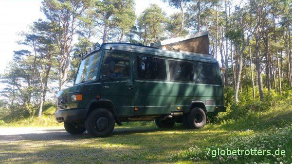 Lieber Bus als LKW: Unser MB 711