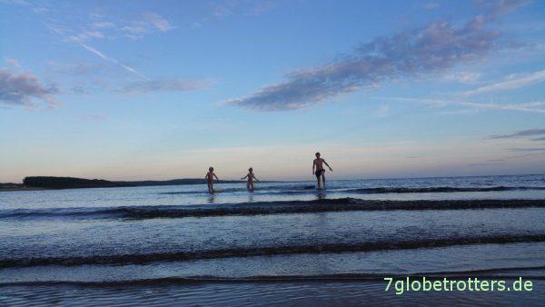 Badefreuden am Kattegat