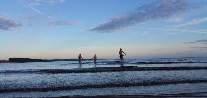 Badefreuden am Kattegatt