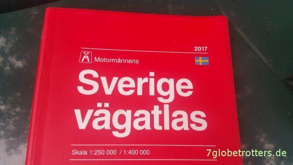 Motormmännens Sverige Vägatlas