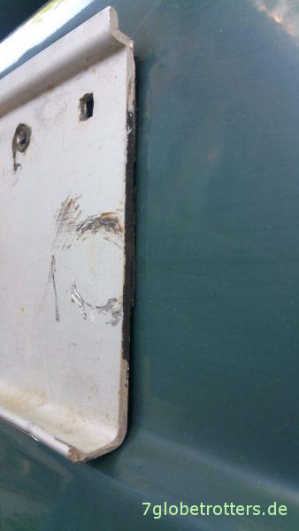 Markise am Wohnmobil nachrüsten: Aluwinkel