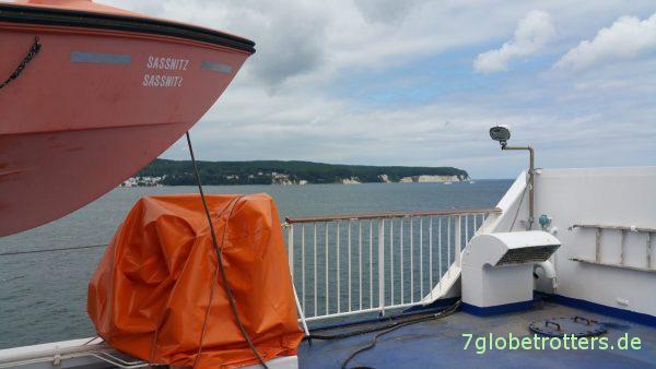 2x Sassnitz: Ort und Fähre nach Schweden