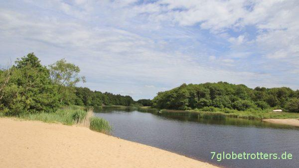 Grimsholmen: Susean-Mündung