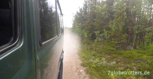 100 km Piste in Lappland