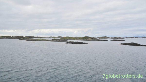 Das Inselgrüppchen Røstøyan