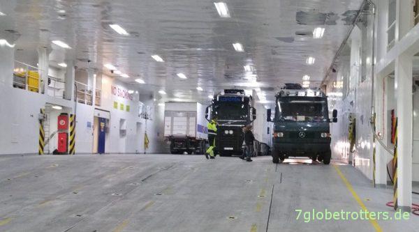 Versorgung der Lofoten-Inseln mit LKW's